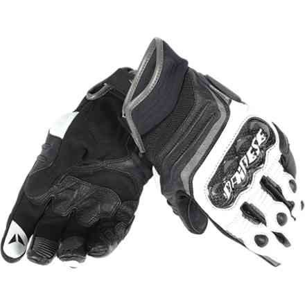 Gants Carbon D1 short noir-anthracite Dainese
