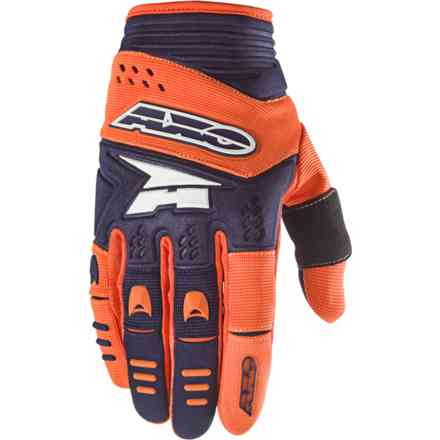 Gants Padlock bleu orange Axo