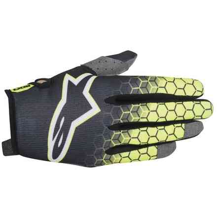 Gants Radar Flight anthracyte fluo jaune Alpinestars