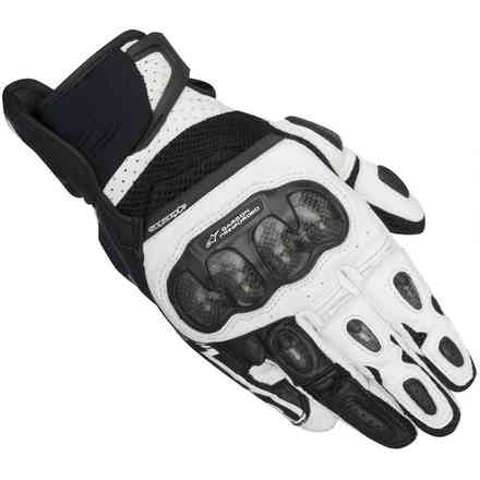 Gants Sp-x  Air Carbon noir-blanc Alpinestars