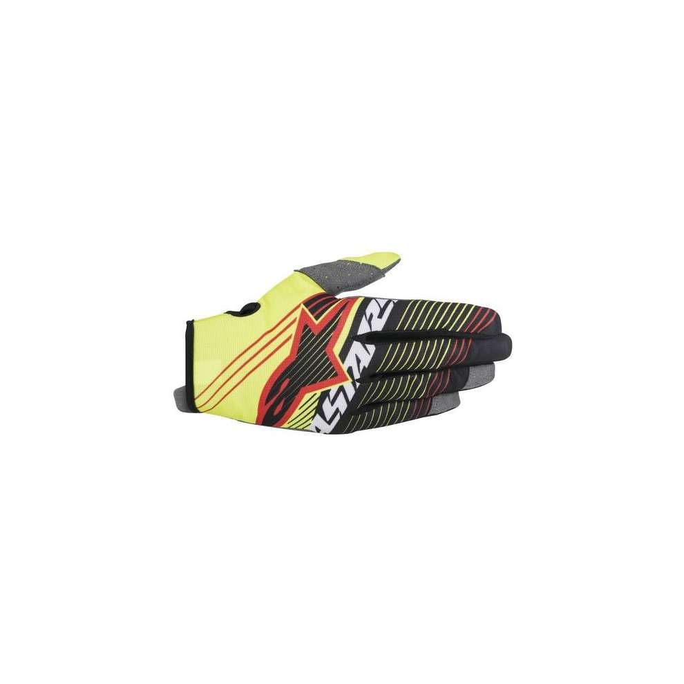 Gants Youth Radar Tracker jaune noir Alpinestars