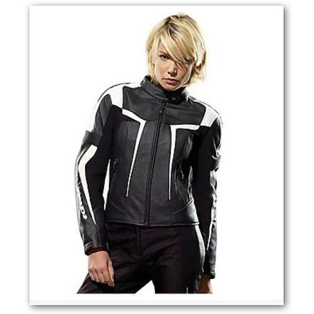 Gara Woman Jacket offer black-white Spidi