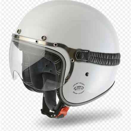 Garage Color white Helmet Airoh
