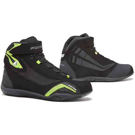 Genesis shoes black yellow fluo Forma