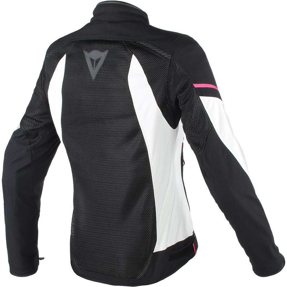 Giacca Air Frame D1 Tex Lady nero bianco Dainese