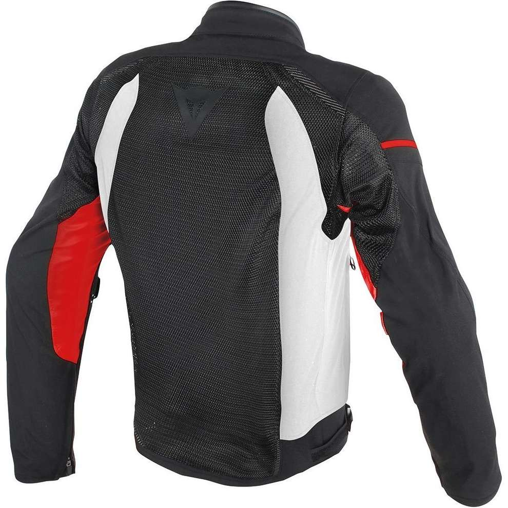 Giacca Air Frame D1 Tex nero bianco rosso Dainese