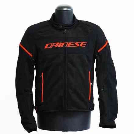 Giacca Air Frame D1 Tex nero rosso fluo Dainese