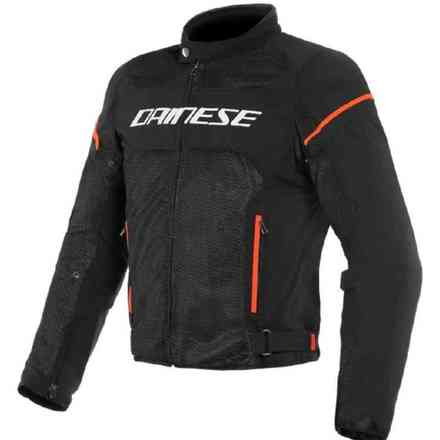 Giacca Air Frame D1 Tex Nero/Rosso fluo Dainese