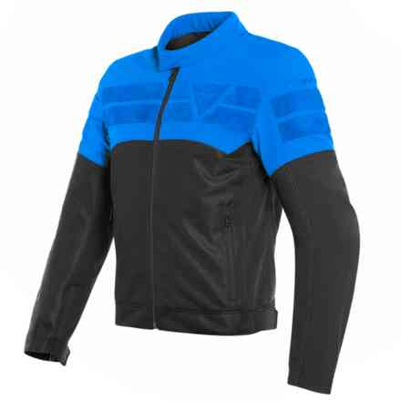 Giacca Air-Track Tex nero light blu Dainese