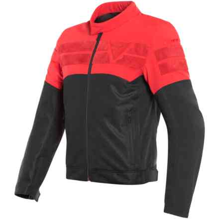 Giacca Air-Track Tex nero rosso Dainese