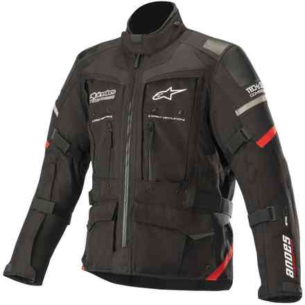 Giacca Andes Pro Drystar Tech-Air Nero Rosso Alpinestars