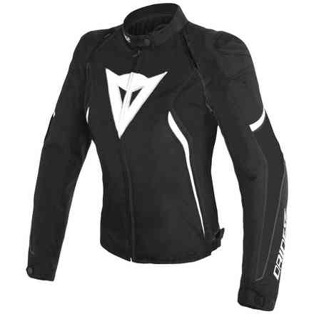 Giacca Avro D2 Tex Lady nero bianco Dainese