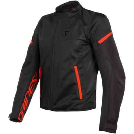 Giacca Bora Air Tex nero rosso fluo Dainese