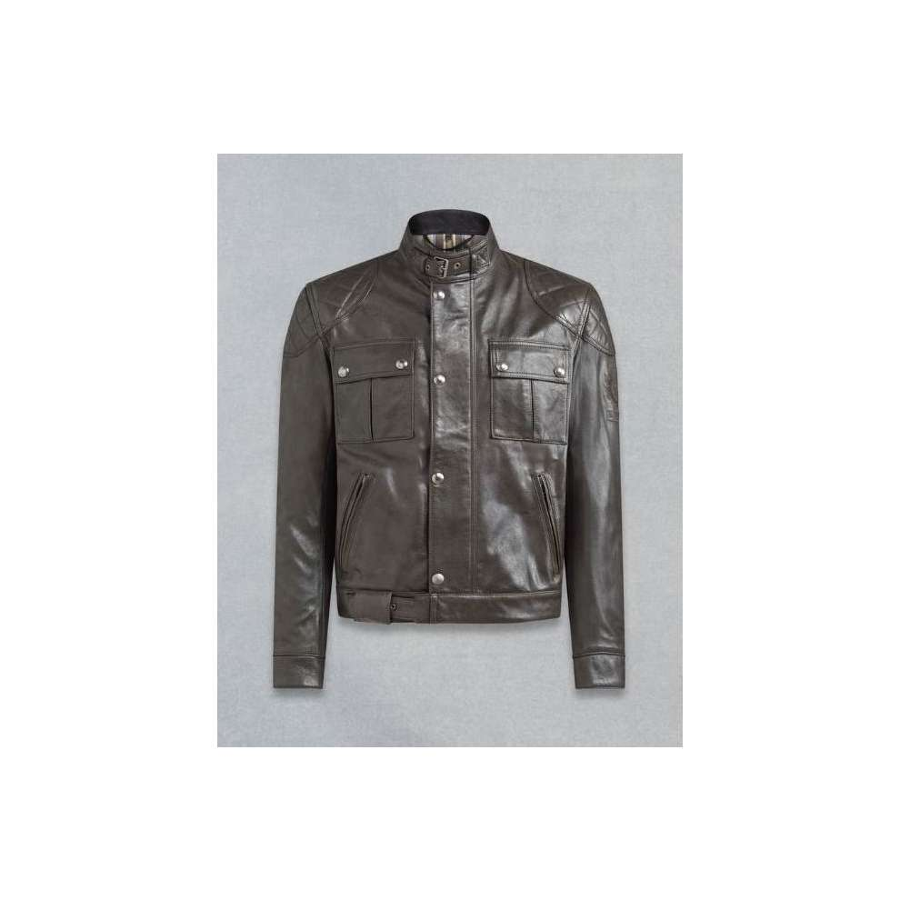 Giacca Brooklands Antique Black  Belstaff