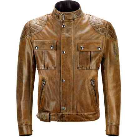 Giacca Brooklands Burnt Cuero Belstaff