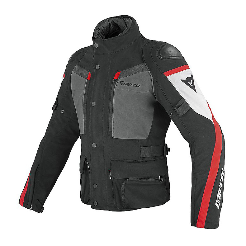 Giacca Carve Master Gore-tex nero-rosso Dainese