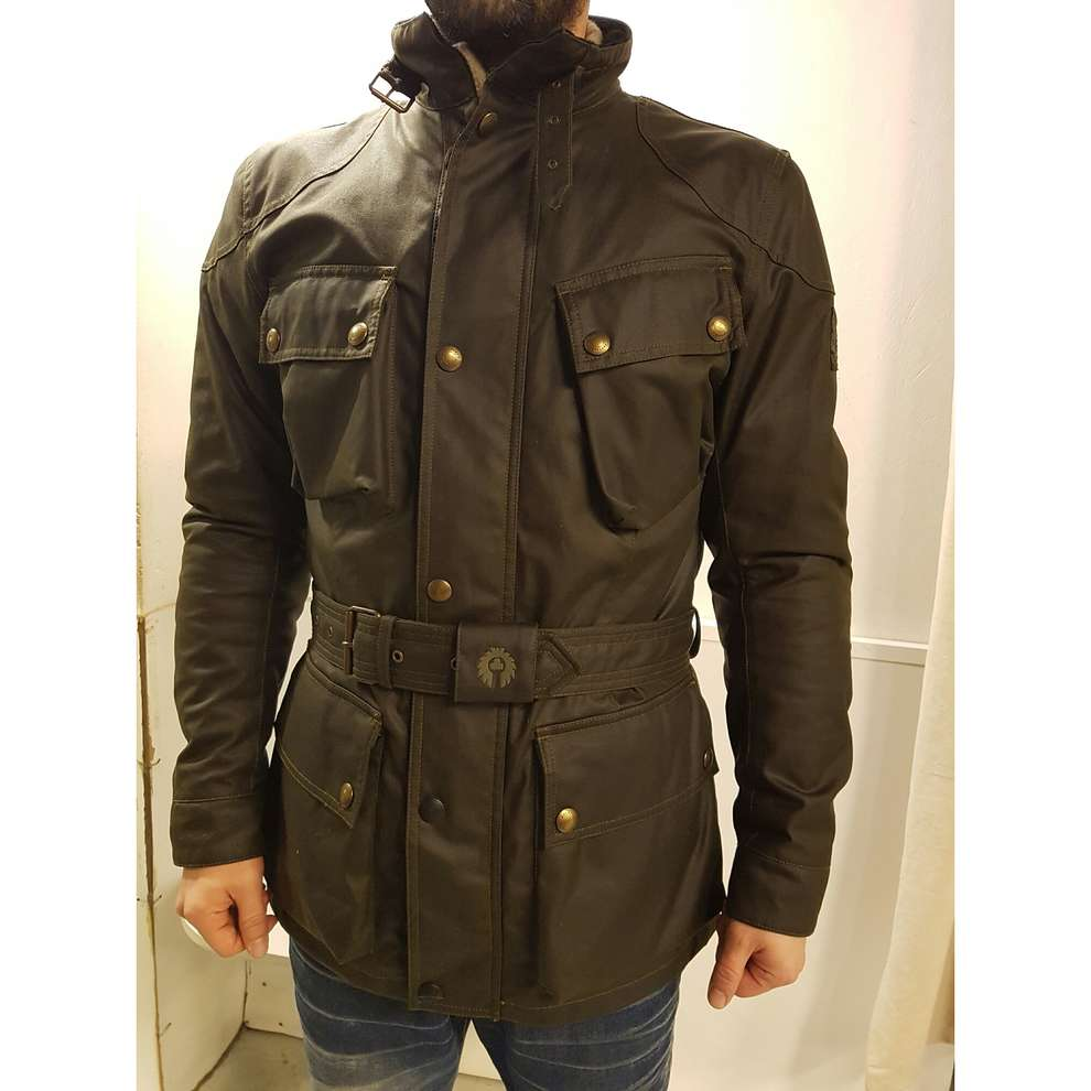 Giacca Classic Tourist Trophy Woodland Belstaff