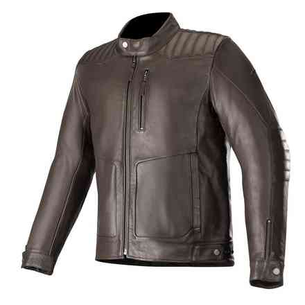 Giacca Crazy Eight Leather Tobacco Alpinestars