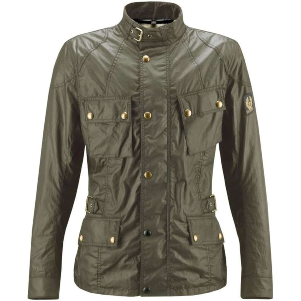 Giacca Crosby Jacket Forest Green Belstaff