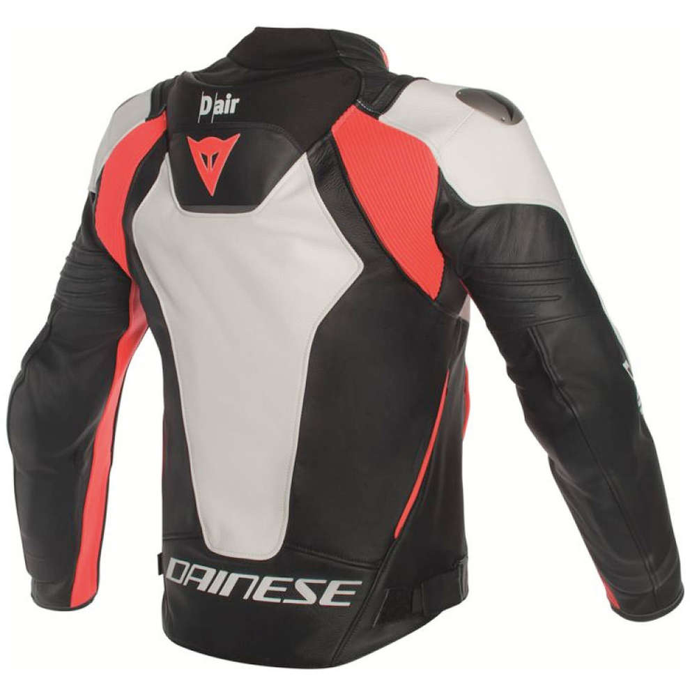 Giacca D-Air Misano bianco nero rosso Dainese