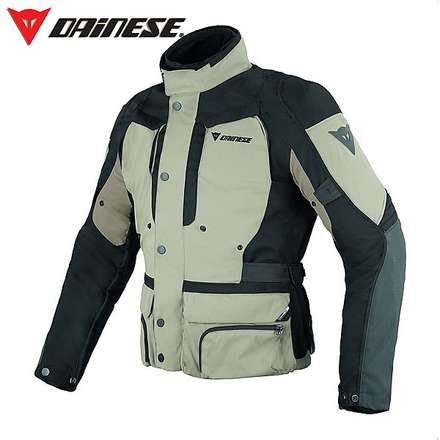 Giacca D-Stormer D-Dry peyote-nero-simple taupe Dainese