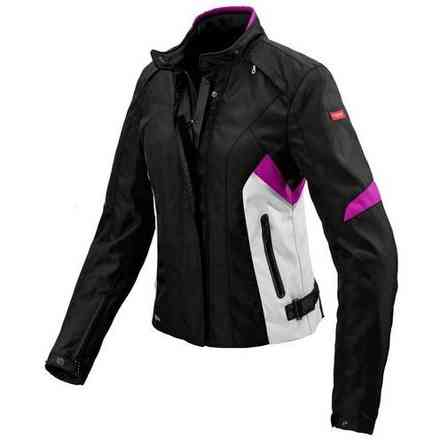 Giacca donna Flash H2out nero fucsia Spidi