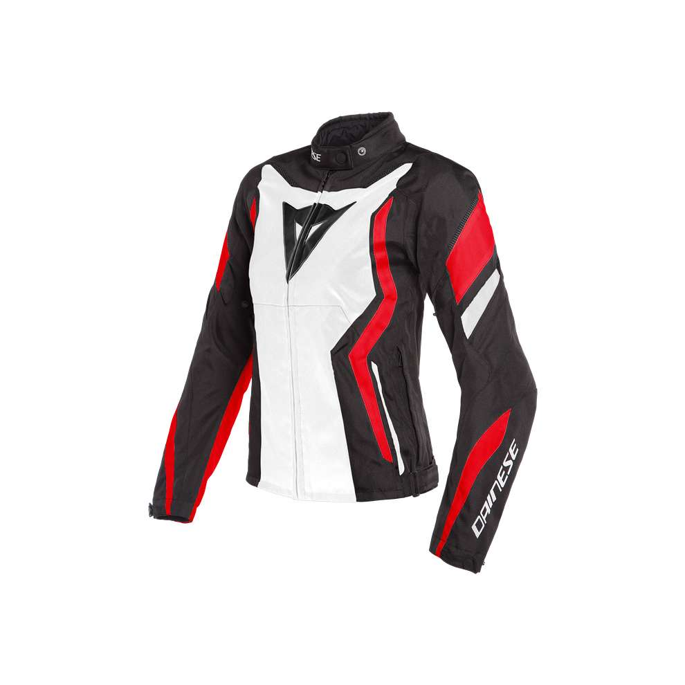 Giacca Edge Lady Tex nero bianco rosso Dainese