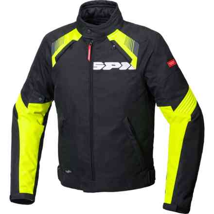 Giacca Flash Evo H2out Nero/Giallo Fluo Spidi