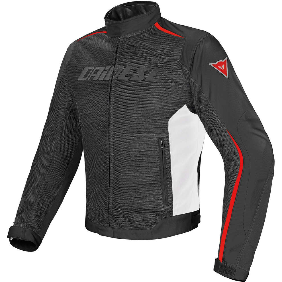 Giacca Hydra Flux D-Dry Nero-Bianco-Rosso Dainese