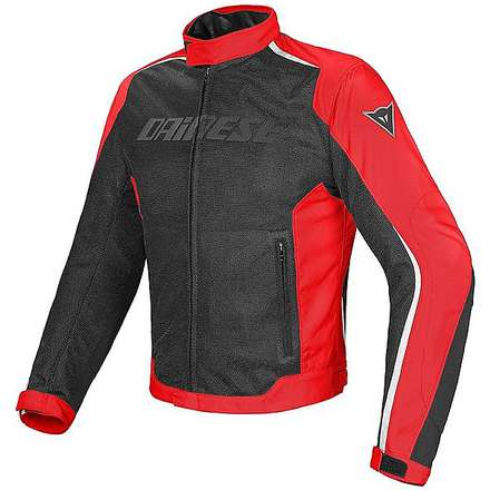 Giacca Hydra Flux D-Dry nero-rosso-bianco Dainese