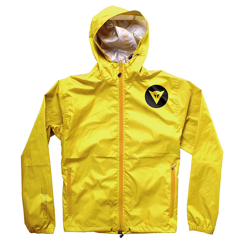 Giacca impermeabile D-Light Shell  giallo  Dainese