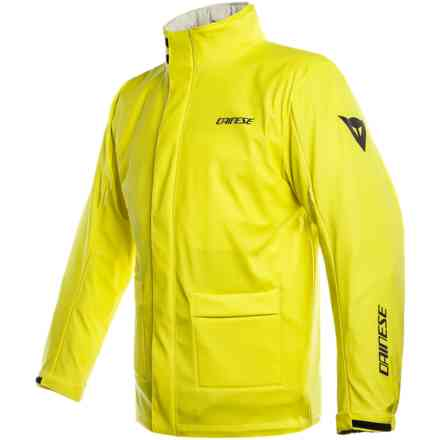 Giacca impermeabile Storm giallo fluo Dainese