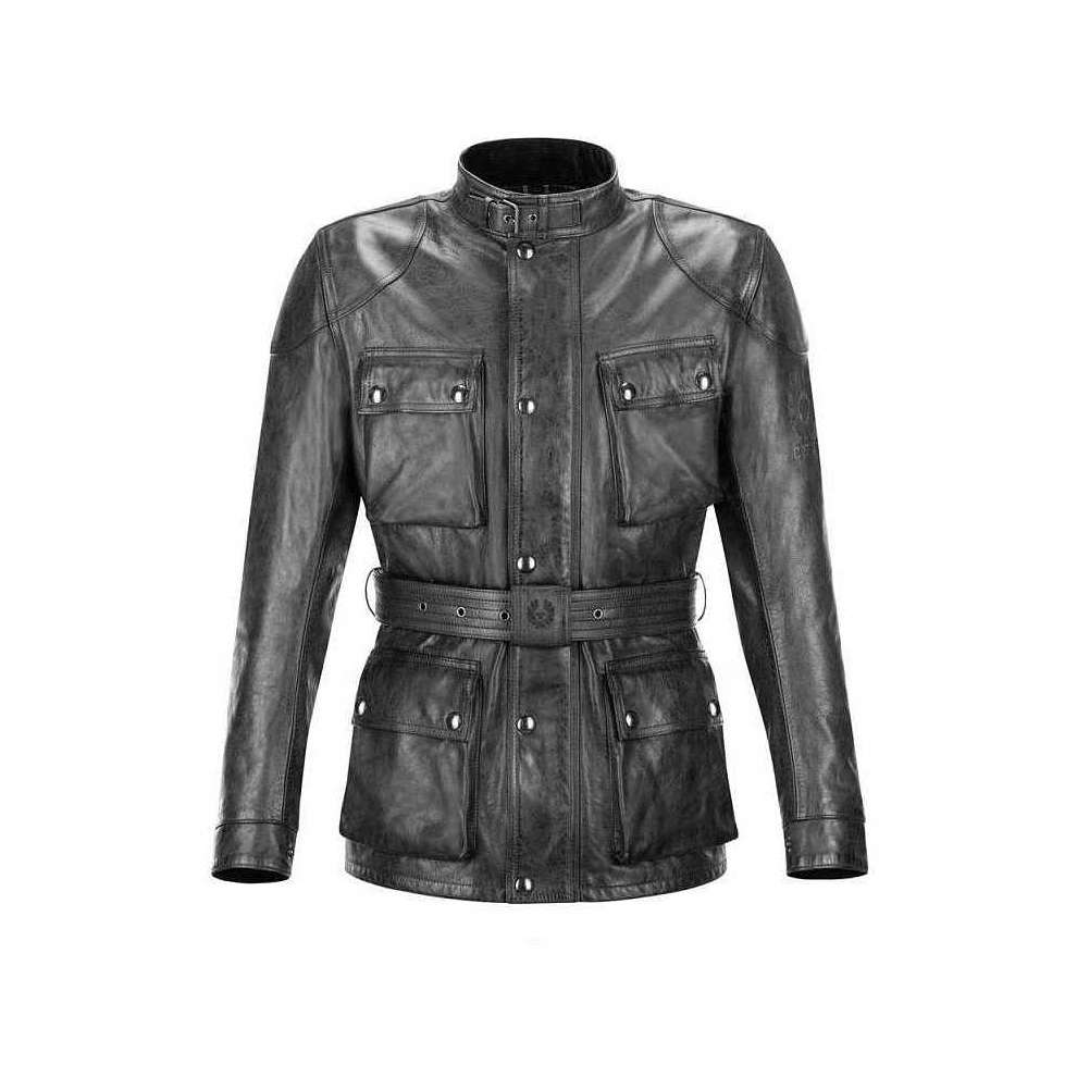 Giacca in pelle Classic Tourist Trophy  Belstaff