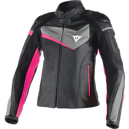 Giacca in pelle donna Veloster Dainese