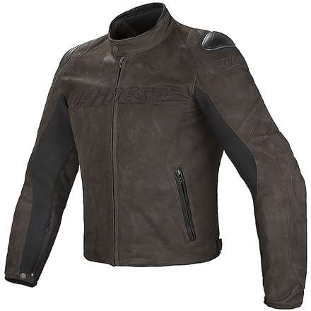Giacca in pelle Street Rider testa di moro Dainese