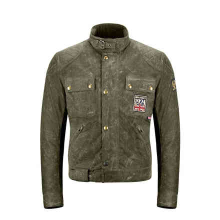 Giacca Jubilee Brooklands British Racing Green Belstaff