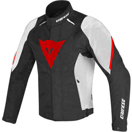 Giacca Laguna Seca D1 d-dry nero bianco rosso Dainese