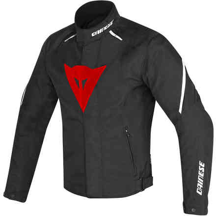 Giacca Laguna Seca D1 d-dry nero rosso bianco Dainese