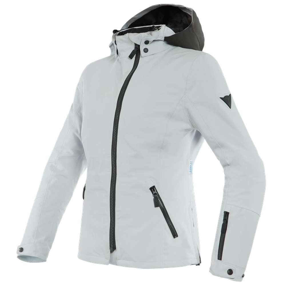 Giacca Mayfair Lady D-Dry nero grigio ghiaccio Dainese