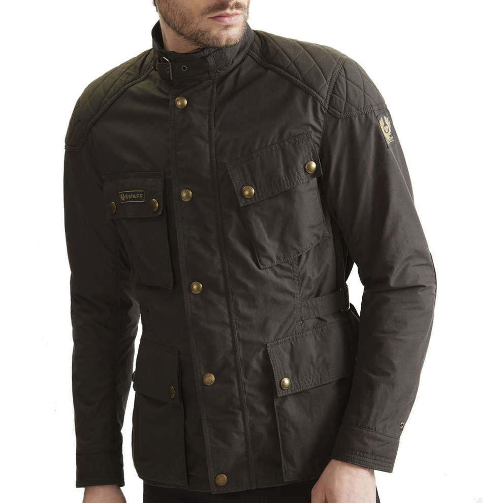 Giacca Mcgee Marrone Scuro Belstaff
