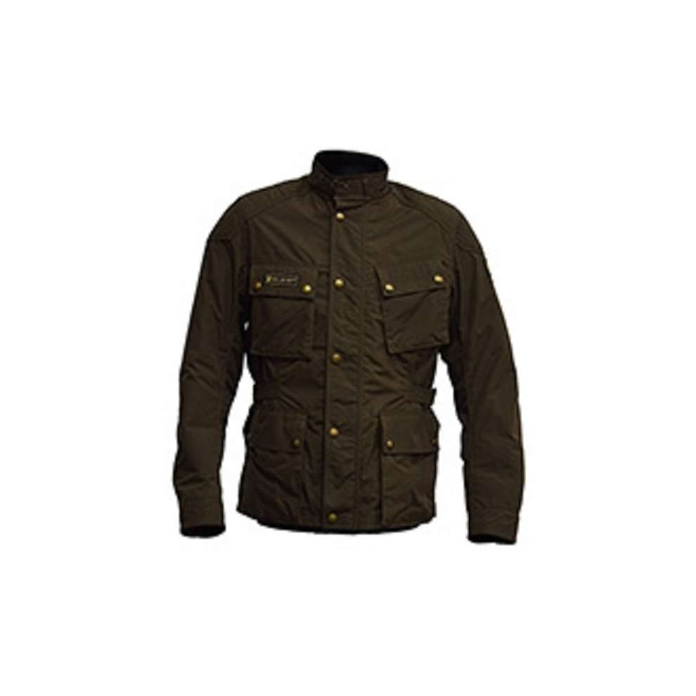 Giacca Mcgee Verde Militare Belstaff