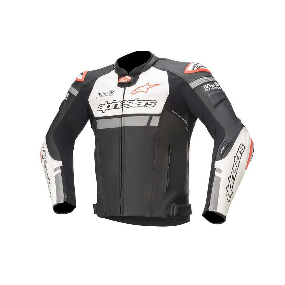Giacca Missile Ignition Tech-Air nero bianco rosso Alpinestars