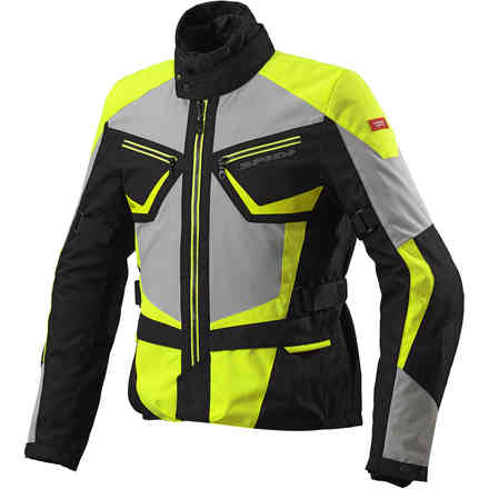 Giacca Multiwinter H2Out giallo fluo Spidi