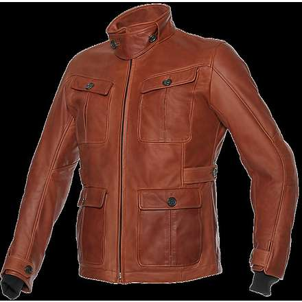 Giacca pelle Harrison 36060 tan Dainese