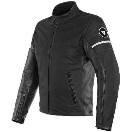 Giacca Pelle Saint Louis Nera Dainese