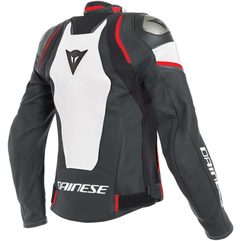 Giacca Racing 3 D-Air Lady nero bianco rosso Dainese