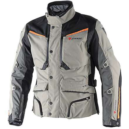Giacca Sandstorm Gore-tex  Brindle-Nero-Bright Marigold Dainese