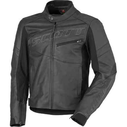 Giacca Scott Track Leather Blouson Scott