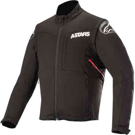 Giacca Session Race Jacket Nero Rosso Alpinestars