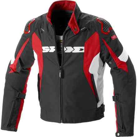Giacca Sport Warrior H2out nero rosso Spidi
